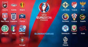 Ellos son los 20 clasificados a la EURO 2016
