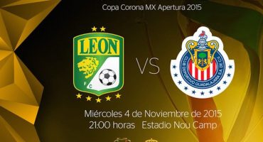 Definen el horario de la Final de la Copa MX entre León y Chivas