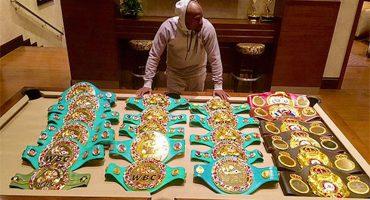 Conozcan los 23 campeonatos de ganó Floyd Mayweather en su carrera