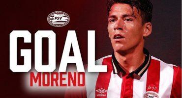 Héctor Moreno anota en la victoria del PSV en la Copa Holanda