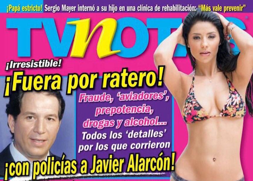 ¿Javier Alarcón se defiende de las acusaciones de TV Notas?