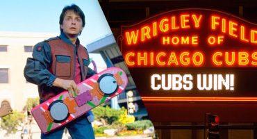 Marty McFly lo predijo: Los Cubs serán los campeones de la Serie Mundial