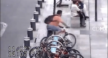 VIDEO: Así se roban las bicicletas en el centro
