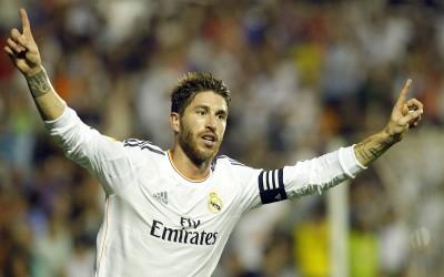 Sergio Ramos con Madrid