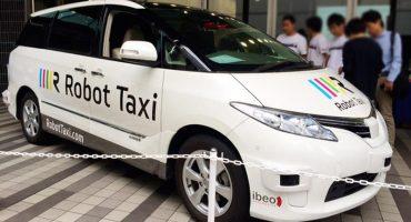 Taxi Robot: Los primeros taxis sin conductor llegan a Japón