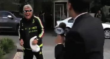 Imperdible: El Tuca trolleo a un reportero de Fox Sports... ¡¡En vivo!!