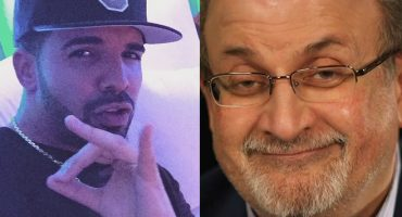 Escucha a Salman Rushdie recitar rimas del rapero Drake