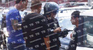 Jugadores del Puebla fueron abordados por la policía por llevar una pistola de juguete