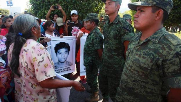 ayotzinapa militares