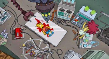 Así matará Bob Patiño a Bart Simpson en 'La Casita del Horror XXVI'