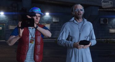 Porque nunca es suficiente: Recrean 'Back to the Future' en GTA V