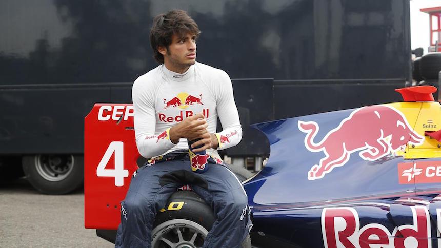 Carlos Sainz llevaba un amuleto el día de su accidente en el GP de Rusia
