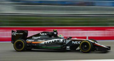 El accidente de Carlos Sainz, Checo largará 7mo y Rosenberg en la Pole del GP de Rusia