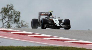Checo Pérez saldrá 5to en un accidentado Gran Premio de Estados Unidos