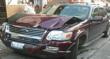 Alcaldesa electa de Temixco choca por conducir en aparente estado de ebriedad