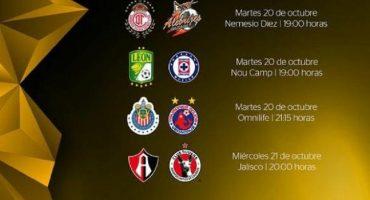 Ya hay fechas y horarios para los Cuartos de Final de la Copa MX