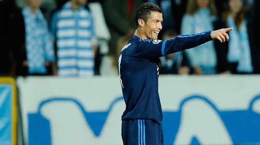 Cristiano Ronaldo encabeza el XI ideal de la Champions League