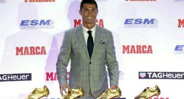 Cristiano Ronaldo se convierte en el máximo ganador de la Bota de Oro al obtenerla por cuarta ocasión en su carrera