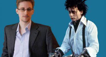 Mega trolleada: lo invitan a hablar sobre Edward Snowden... y opina sobre Edward Scissorhands