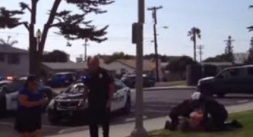 Por no usar cinturón de seguridad, policía de EEUU somete y golpea a mujer
