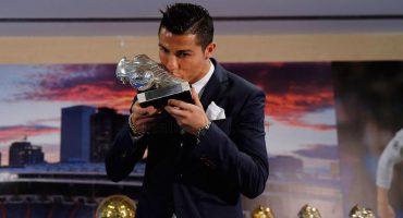 Así estuvo el homenaje a Cristiano Ronaldo, el máximo goleador del Real Madrid