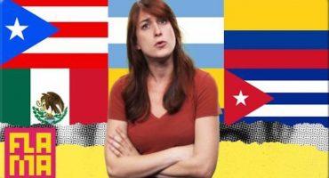 Los diferentes acentos al hablar español