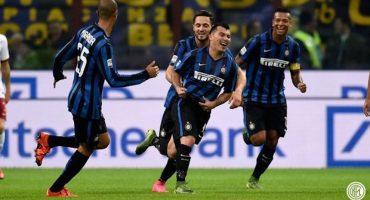 Inter de Milán vence a la Roma y es líder de la Serie A