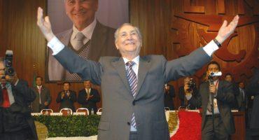 Sangre joven: con 93 años, reeligen a Gamboa Pascoe como líder de CTM