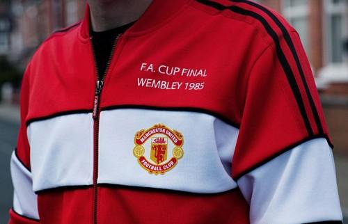 Adidas Originals presenta su línea retro del Manchester United