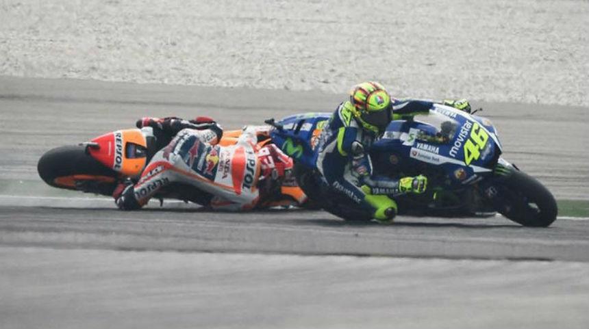Valentino Rossi sí correrá en Moto GP de Valencia a pesar de la polémica con Marc Márquez