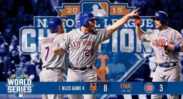 La profecía no se cumplió, los Cubs cayeron ante los Mets y no jugarán la Serie Mundial