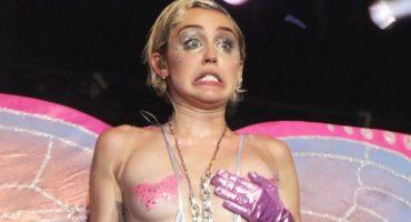 Miley Cyrus quiere organizar un concierto nudista con The Flaming Lips