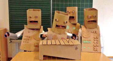 Espléndido cover de Kraftwerk por... niños