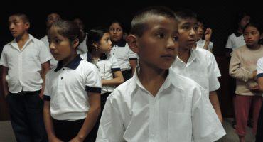 Así sonará el Himno Nacional en el #MexicoGP a cargo de niños mixes