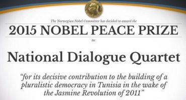 El Cuarteto Nacional de Diálogo de Túnez es reconocido con el Nobel de la Paz