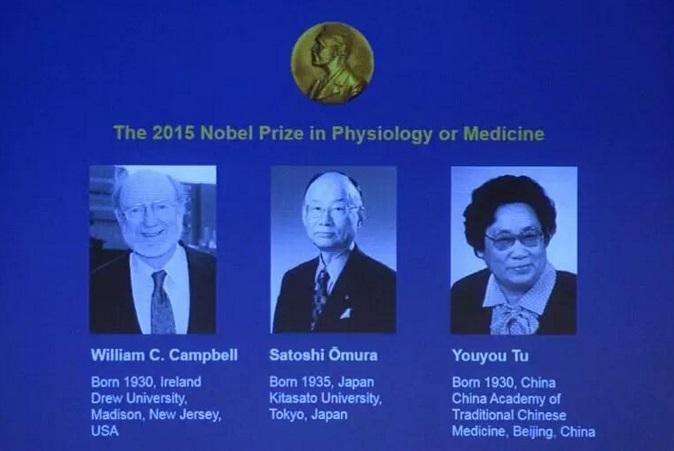 Reconocen con Nobel de Medicina 2015 a terapias contra enfermedades parasitarias y malaria