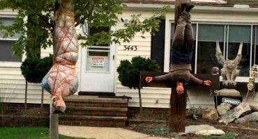Un vistazo a la casa de halloween más terrorifica del año