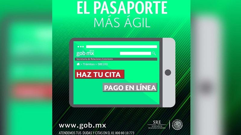 SRE suspende emisión de pasaporte vía internet... problemas técnicos