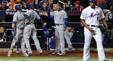 Los Royals remontan a los Mets y están a un juego de ganar la Serie Mundial