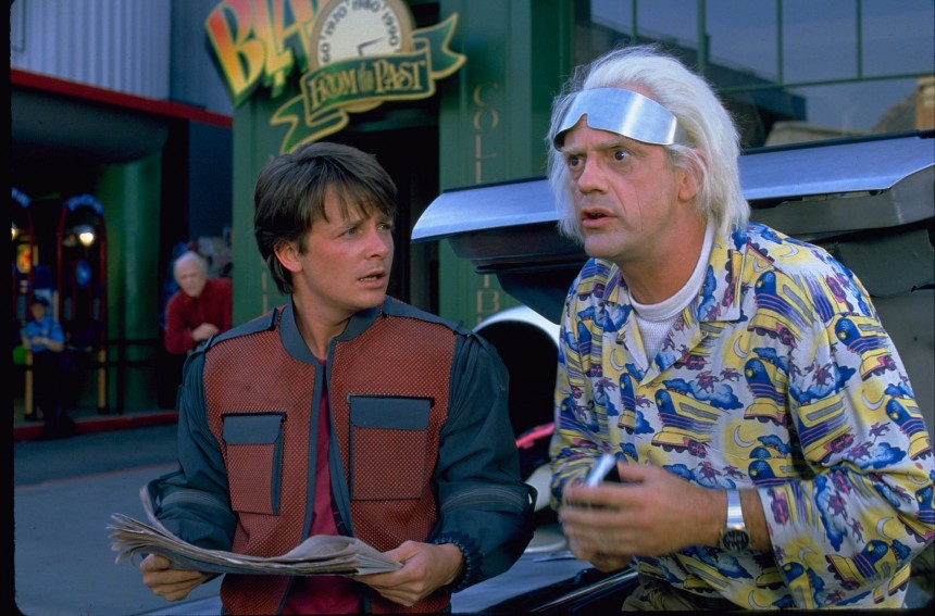 Detienen a fan de 'Back To The Future' por tratar de