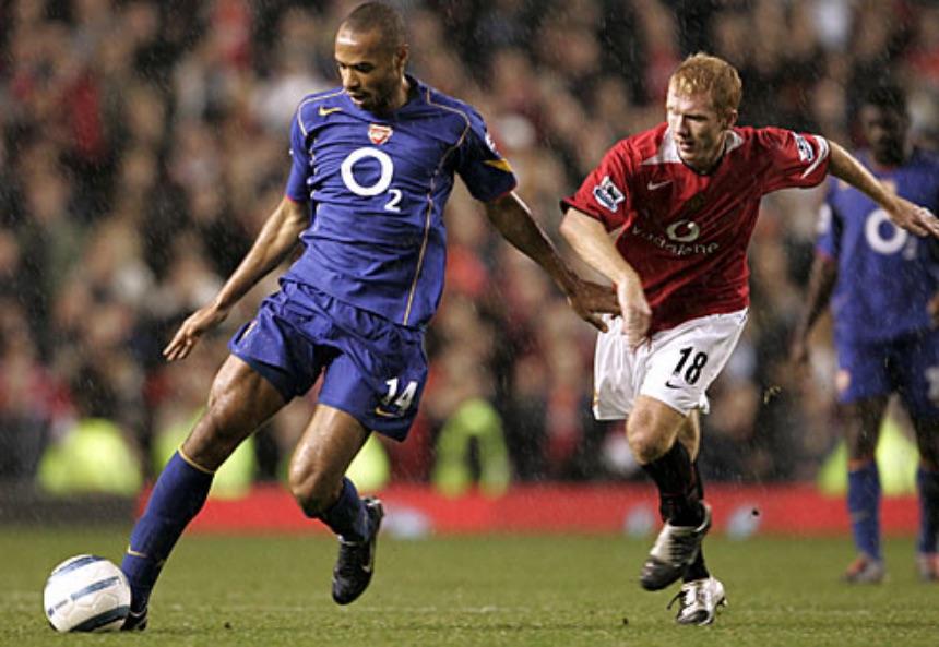Para Thierry Henry, Paul Scholes es el mejor jugador en la historia de la Premier League