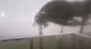 Galería: impactantes videos del huracán