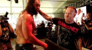 Corey Taylor, vocalista de Slipknot golpea a luchador de la WWE