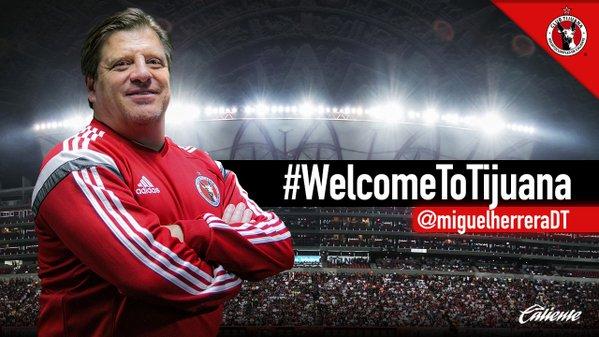 OFICIAL: Miguel Herrera es el nuevo Técnico de los Xolos de Tijuana