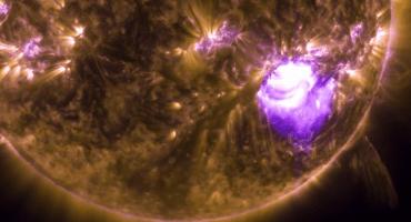 Media hora de todo el poder del Sol en un video en ultra HD