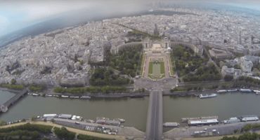 Así se ve la ciudad de París cuando decides escalar la Torre Eiffel