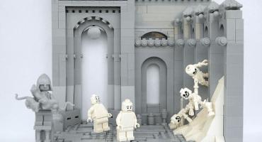 ¡Nerdgasmo! Los 9 círculos del infierno de Dante en Legos