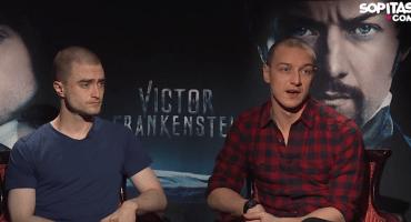 Daniel Radcliffe y James McAvoy juntos en