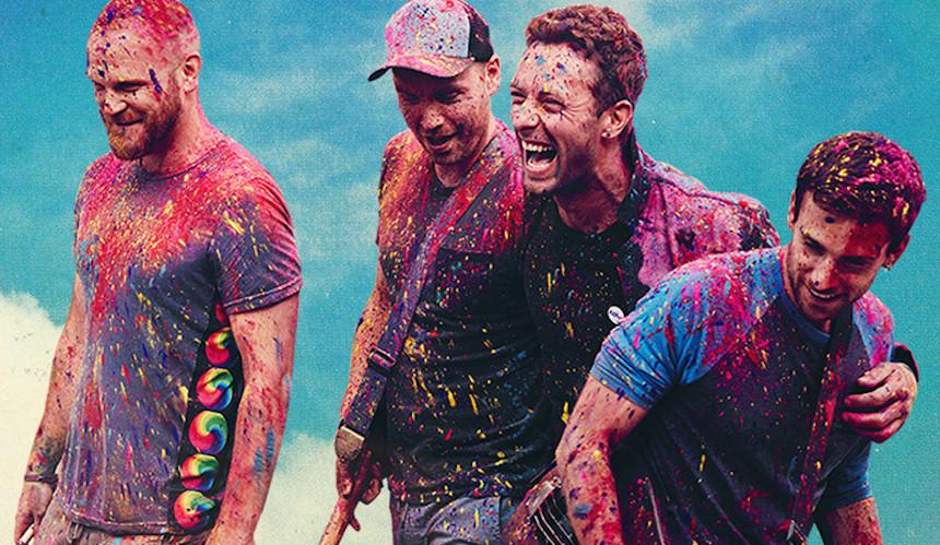 Coldplay estrena música en concierto para TIDAL