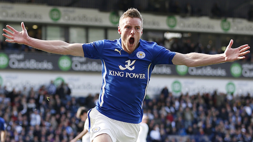 Jamie Vardy rompe récord de partidos con gol en la Premier League
